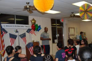 July 18, 2012 Lecture by James Johnson